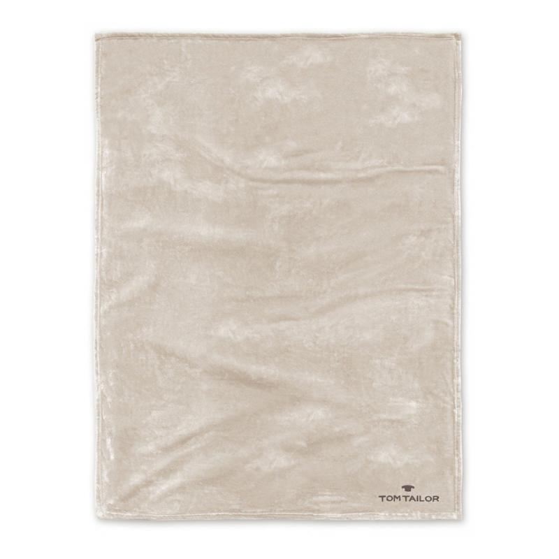 Pled kremowy 150x200 cm