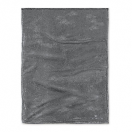 Pled ciemny szary 150x200 cm
