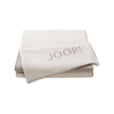 Pled beżowy JOOP! Uni Double Face 693426