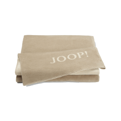 Pled beżowy JOOP! Uni Double Face 564320