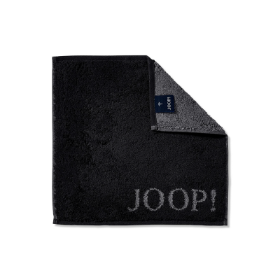 Ręcznik frotte czarny JOOP! Classic 1600