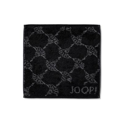 Ręcznik frotte czarny JOOP! Classic Cornflower 1611