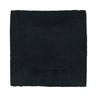 Dywanik łazienkowy czarny Cawo 1000