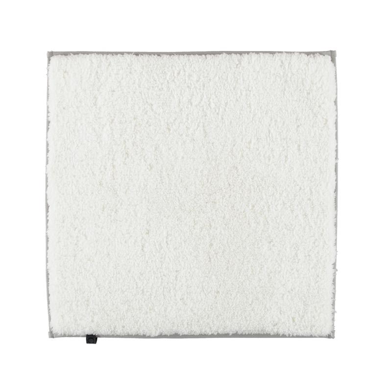 Dywanik łazienkowy biały Cawo Frame 1006