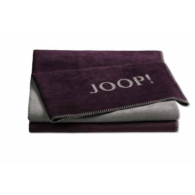Pled bordowy JOOP! Uni Double Face 739360
