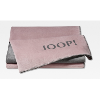 Pled różowy JOOP! Uni Double Face 739384