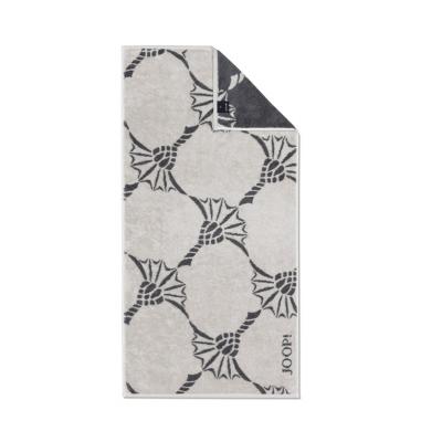 Ręcznik frotte beżowy JOOP! INFINITY Cornflower Zoom 1677