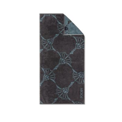 Ręcznik frotte szary JOOP! INFINITY Cornflower Zoom 1677