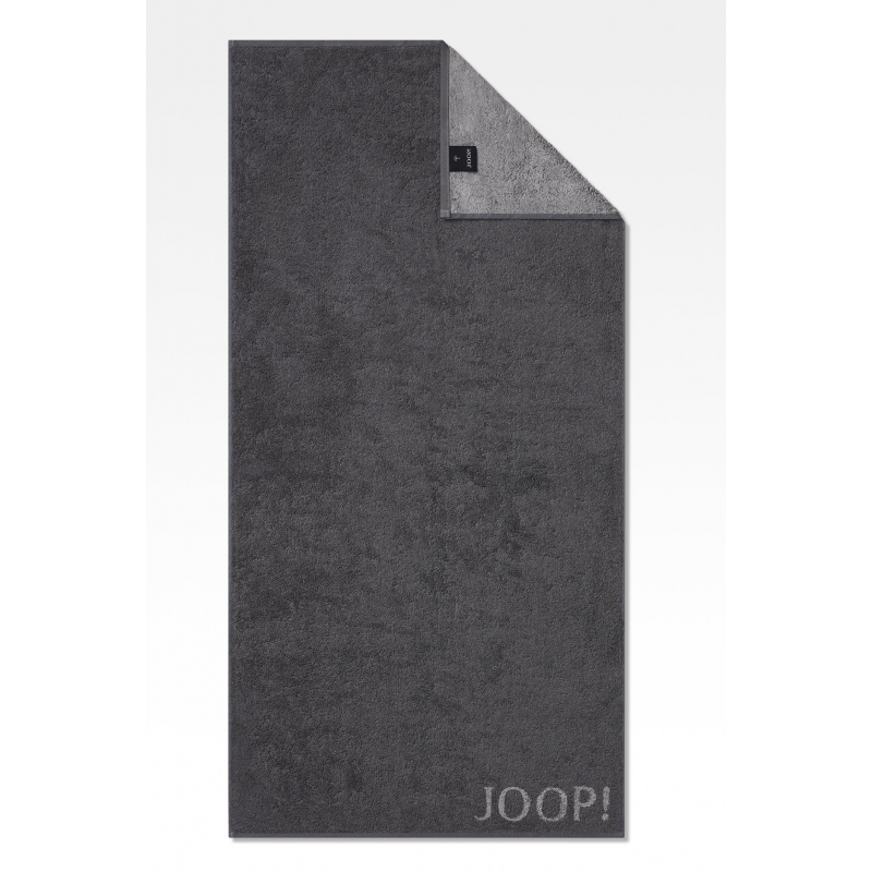 Ręcznik frotte antracytowy JOOP! Classic Doubleface 1600