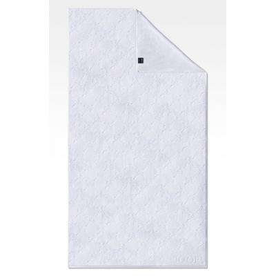 Ręcznik frotte biały JOOP! Uni-Cornflower 1670