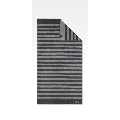 Ręcznik frotte antracyt JOOP! Classic Stripes