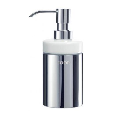 Dozownik do mydła biały JOOP! Chromeline 010020010