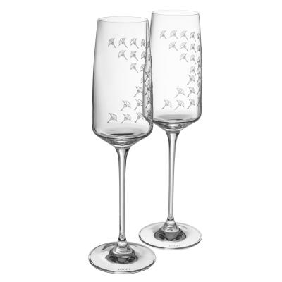 JOOP! Kieliszek do szampana Faded Cornflower SET 2szt.