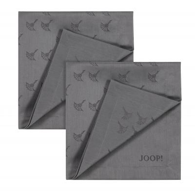 JOOP! Serwetka Faded Cornflower platin 50x50 SET 2szt.