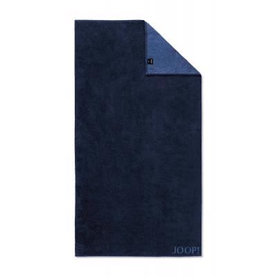 Ręcznik frotte granatowy JOOP! Classic Doubleface 1600