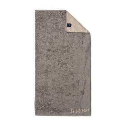 Ręcznik frotte grafitowy JOOP! Classic Doubleface 1600