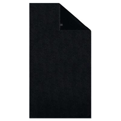Ręcznik frotte czarny JOOP! Uni-Cornflower 1670