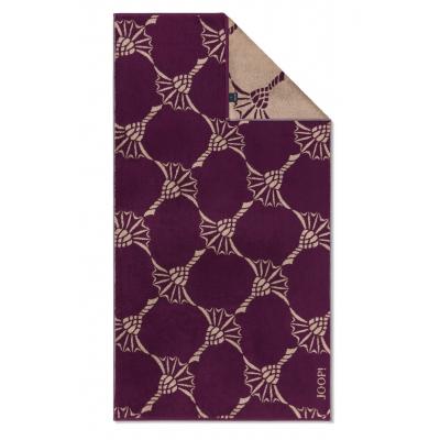 Ręcznik frotte fioletowy JOOP! INFINITY Cornflower Zoom 1677