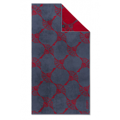 Ręcznik frotte granatowy JOOP! INFINITY Cornflower Zoom 1677