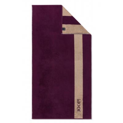 Ręcznik frotte fioletowe JOOP! INFINITY Doubleface 1678