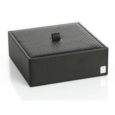 Pudełko z przykrywką małe poziome czarne JOOP! Bathline 010990411