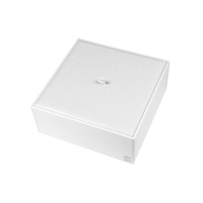 Pudełko z przykrywką duże białe