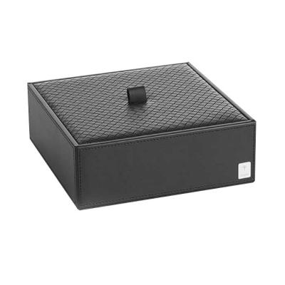 Pudełko z przykrywką duże czarne JOOP! Bathline 011000411