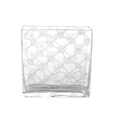 Wazon szklany 20x8x20