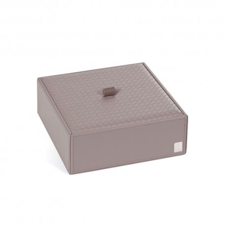 Pudełko z przykrywką duże szare