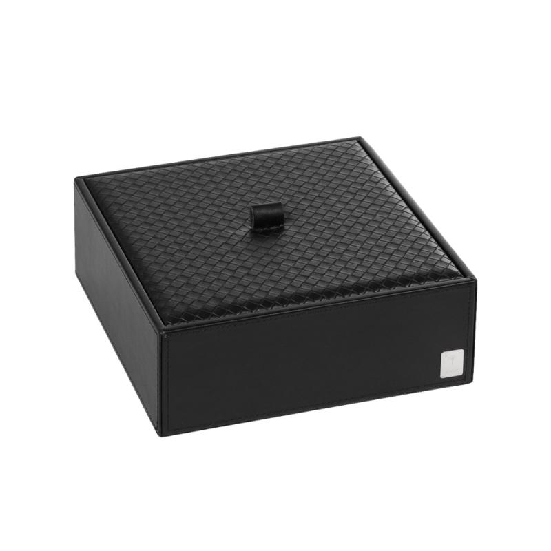 Pudełko z przykrywką małe czarne JOOP! Bathline 010990411