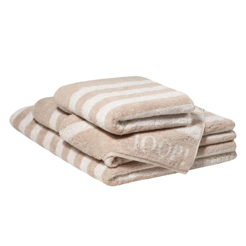 Ręcznik beżowy JOOP! Classic Stripes 1610
