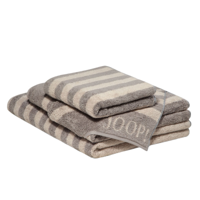 Ręcznik szary JOOP! Classic Stripes 1610